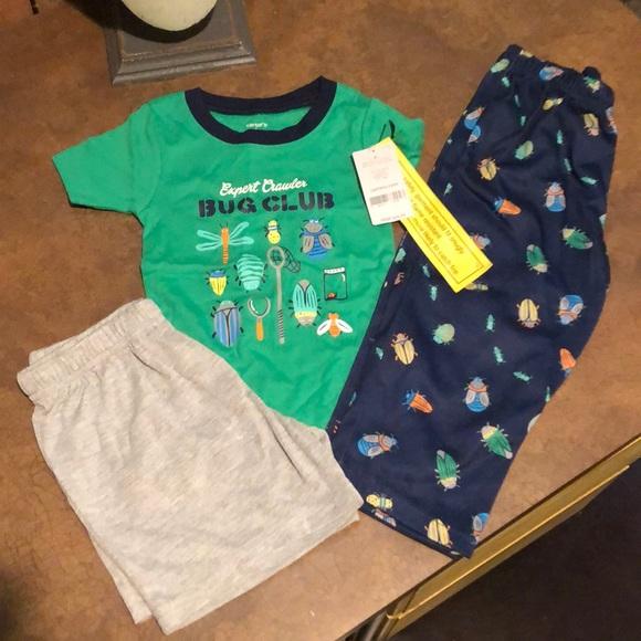 2T;3T;4T;5T NWT Carter/'s Baby Boy Sleepwear Set 2pc /& 3pc